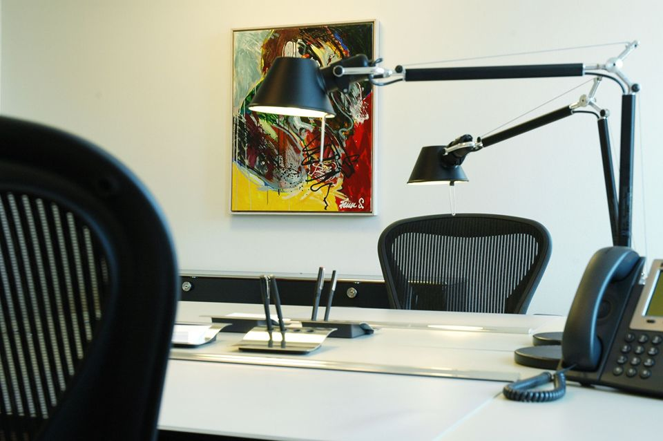 Dejligt kontor på et kontorhotel